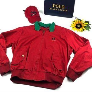 Polo Ralph Lauren Vintage wind breaker Jacket Med.